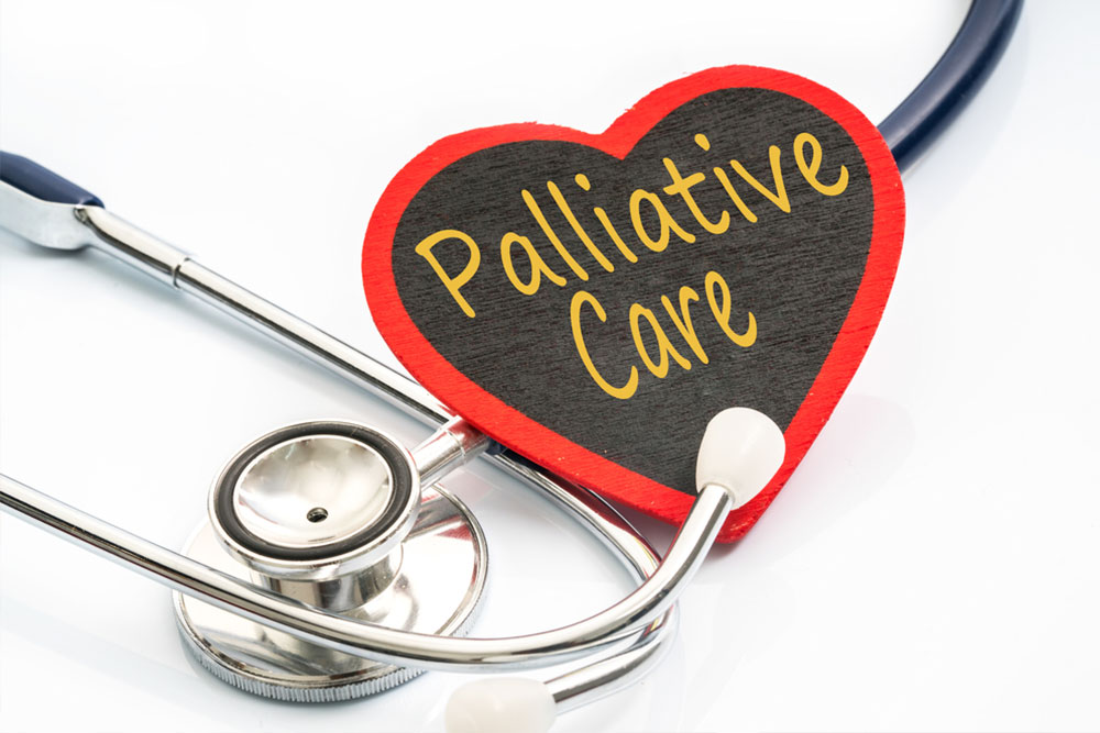 stethoscope and red love with medical conceptual text