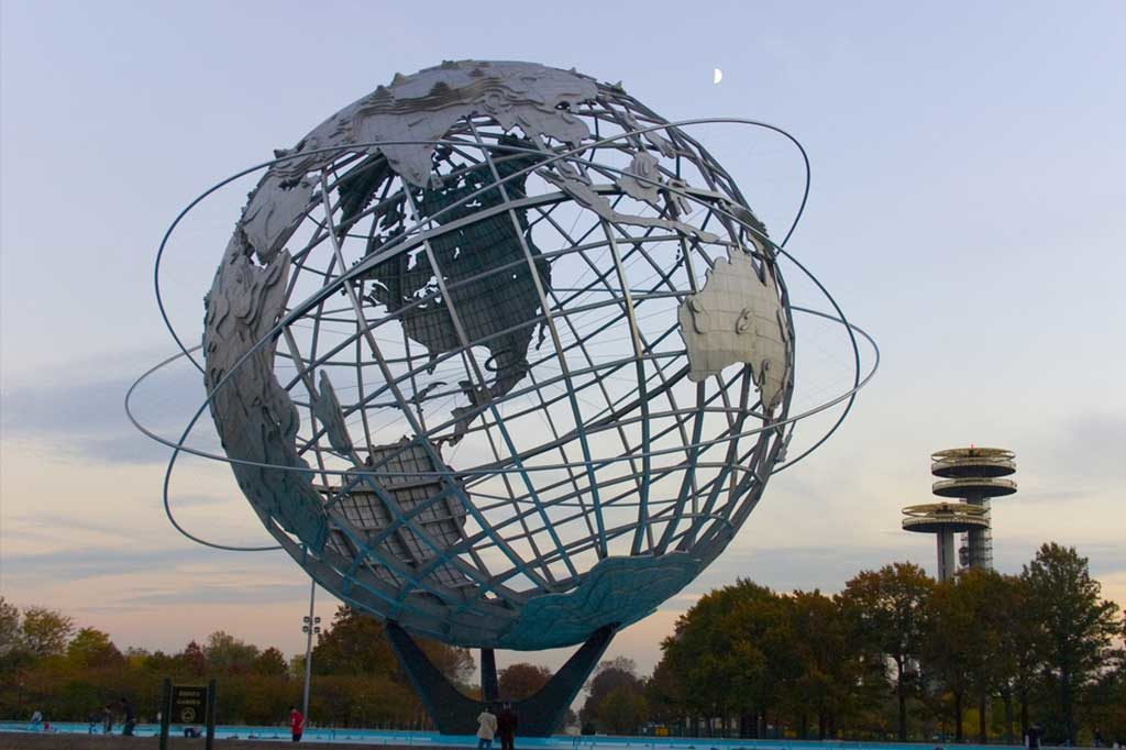 Globe in Queens NY